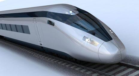 HS2 high speed train