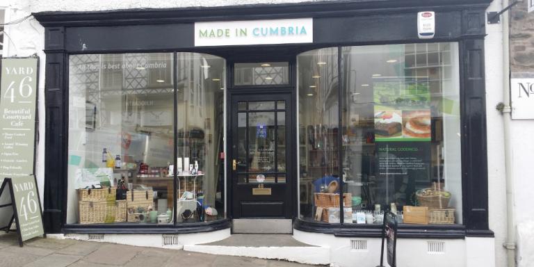 Made in Cumbria shop