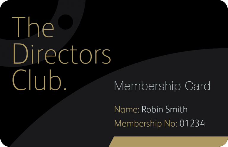 The Directors Club - Business Card