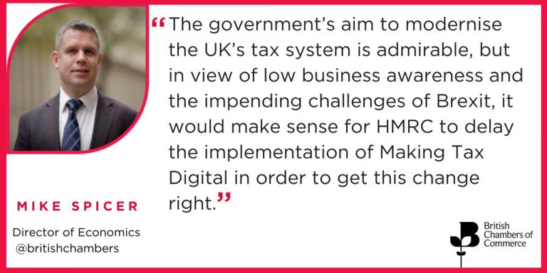 Making Tax digital quote